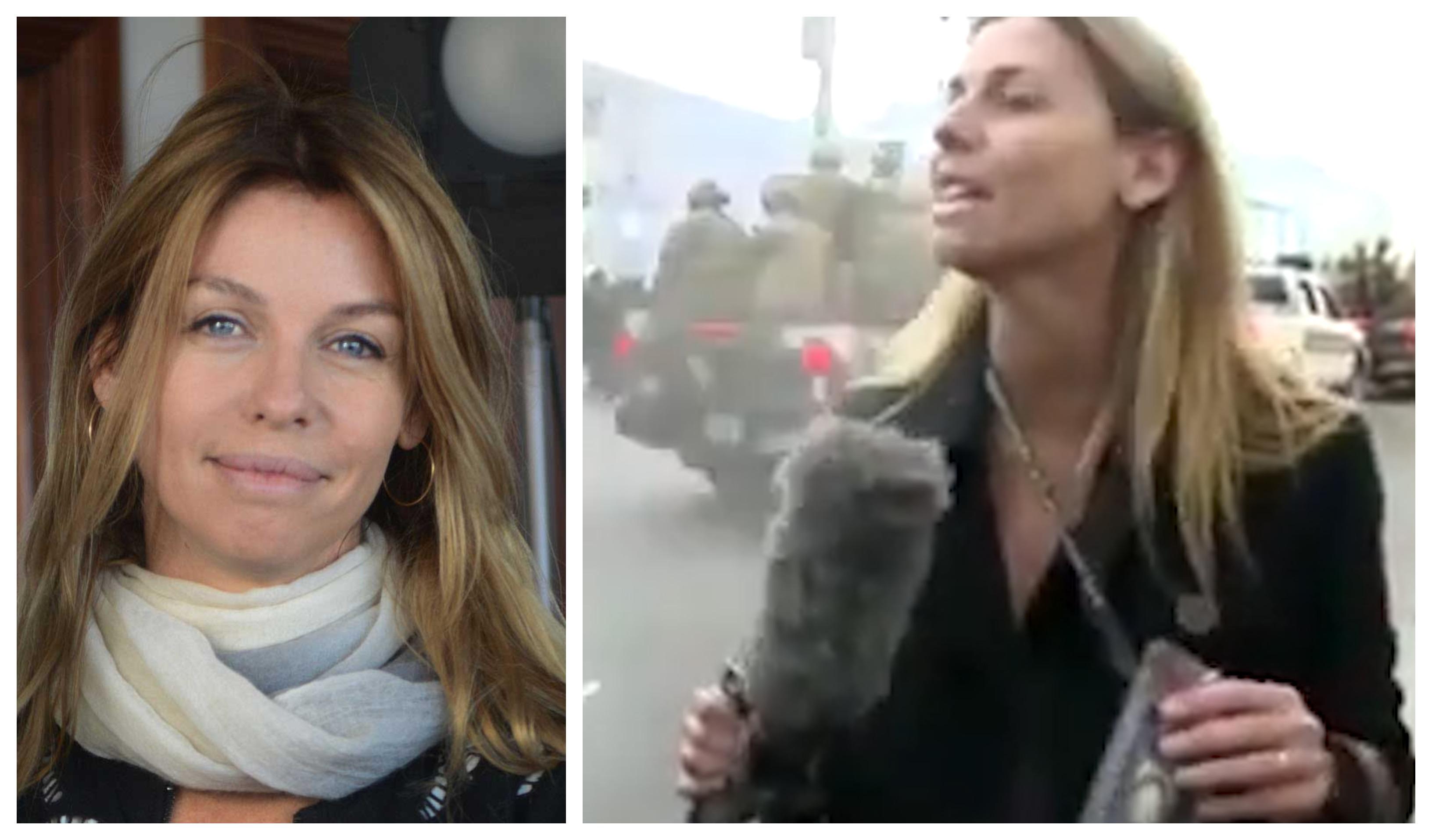 Bolivia: Policía roció gas lacrimógeno a periodista argentina en plena cobertura