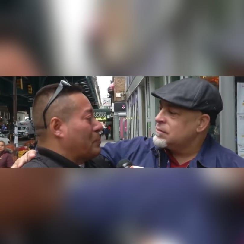 VIDEO: Hondureño se viraliza tras emotiva reacción durante un experimento social en EEUU