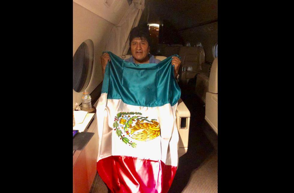 Evo Morales llegará a México tras recibir asilo político en ese país