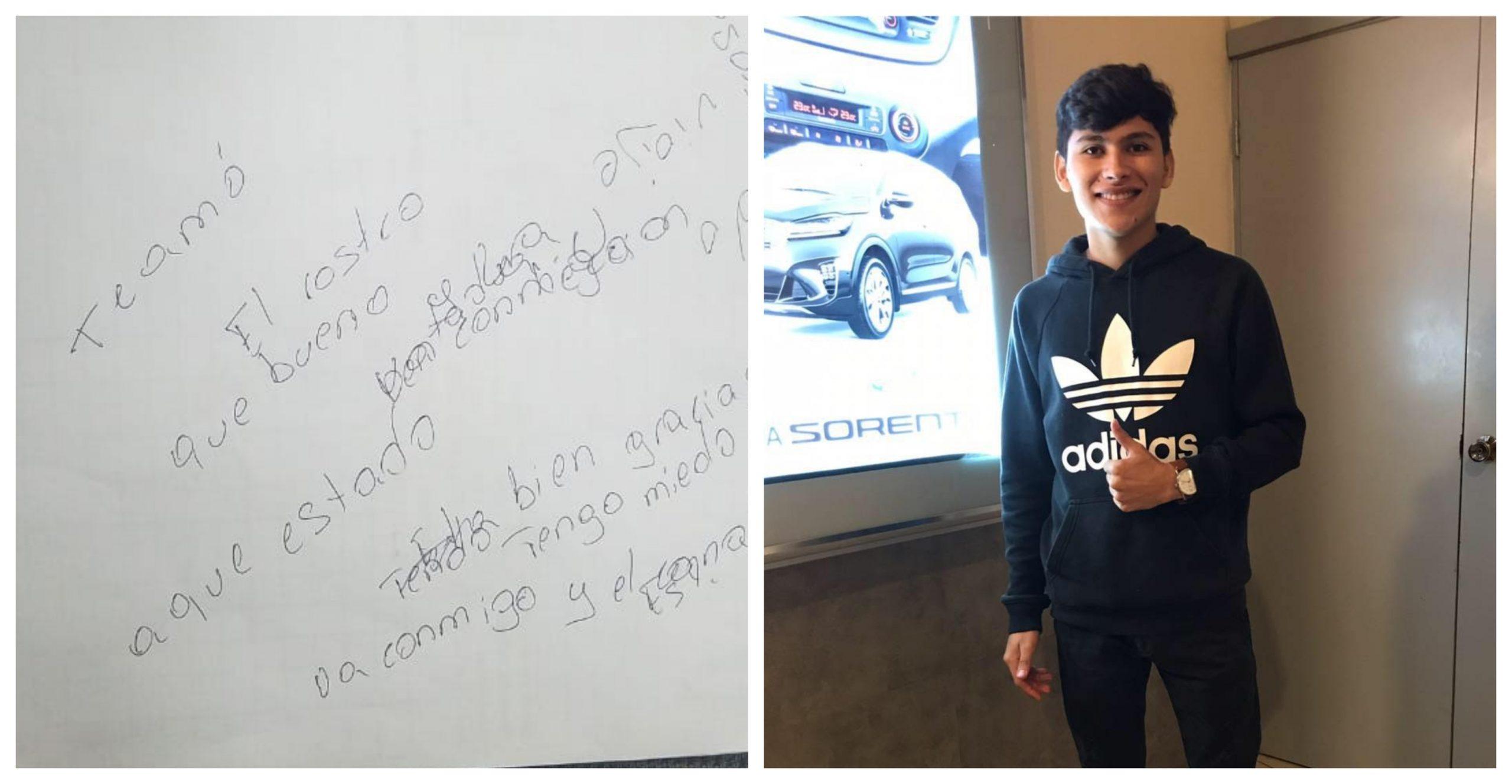 Wilson Berrios conmueve a Honduras con un «te amo» dedicado a su padre