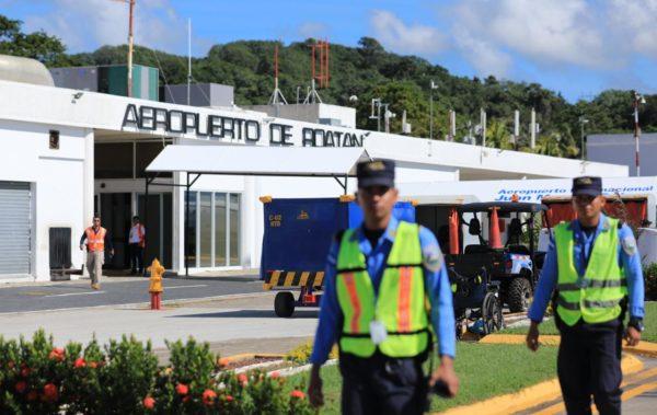 Roatán: Aeropuerto Juan Manuel Gálvez recibe certificación internacional