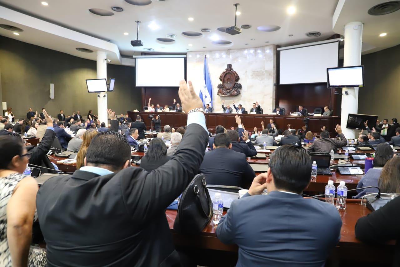 En un solo debate Congreso Nacional aprueba presupuesto 2020