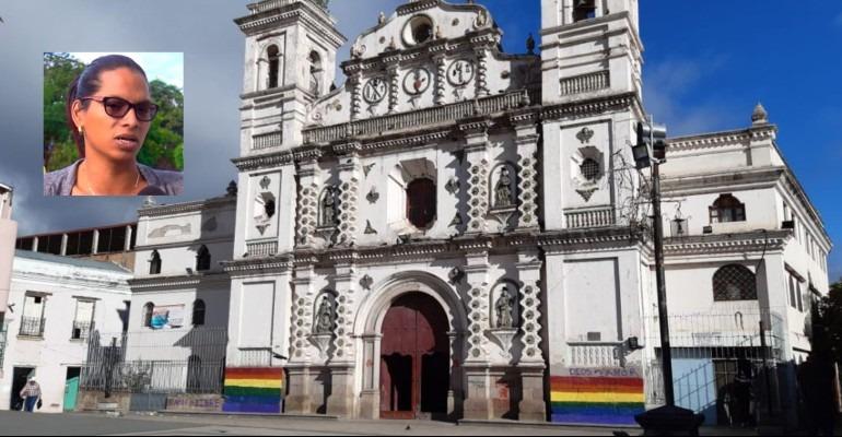 Comunidad LGTBI: pintura en iglesia llama a sacerdotes a salir del clóset