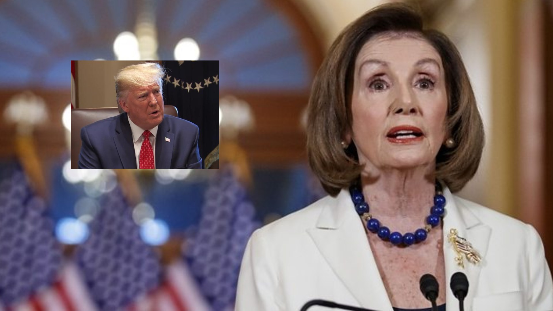 Nancy Pelosi ordena proceder con acusación formal contra Trump