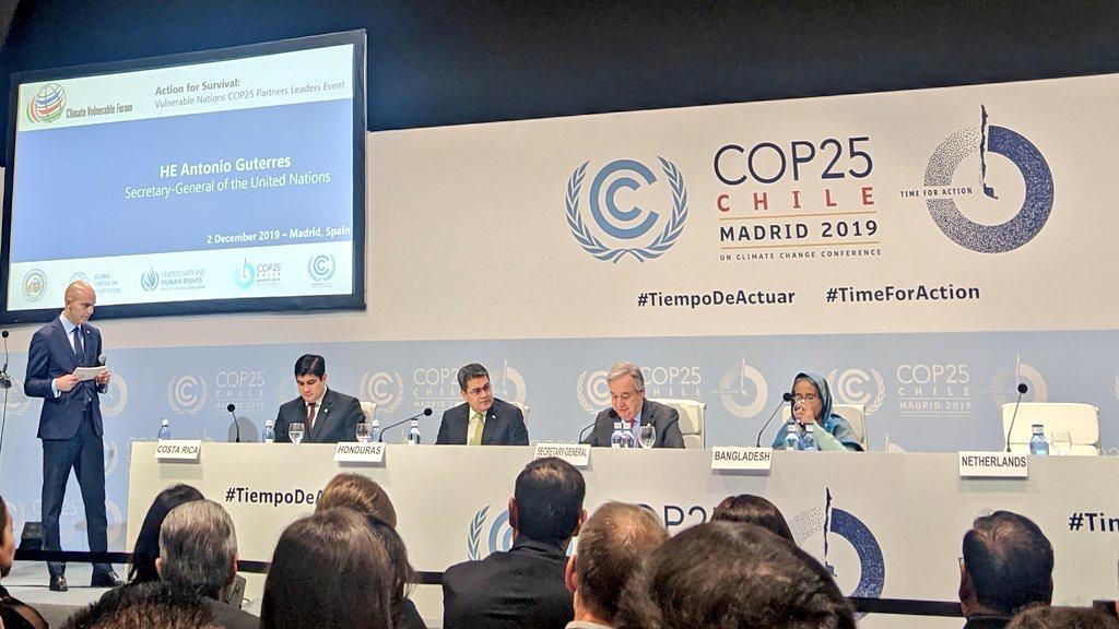 Cumbre del Clima: renegociar la deuda para enfrentar cambio climático, pide JOH