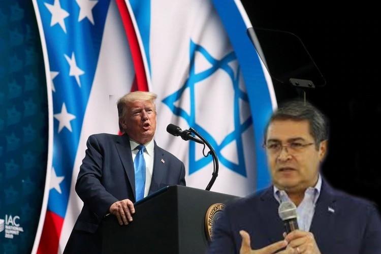 Donald Trump destaca lucha del presidente Hernández contra el narcotráfico