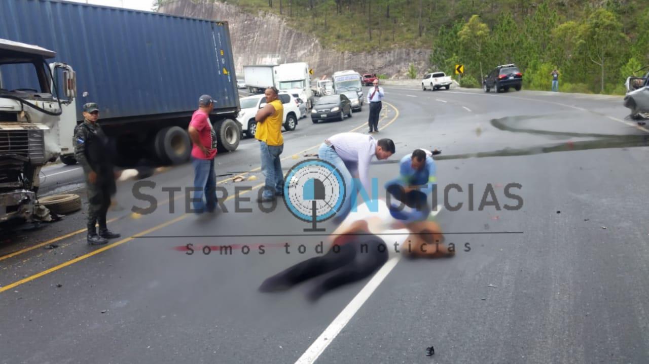 Subcomisionado retirado era una de las victimas en accidente de Zambrano