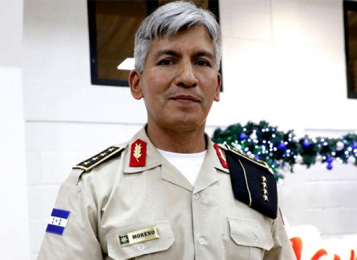 General Tito Moreno:«Trabajar por el pueblo hondureño es el gran reto que tenemos»
