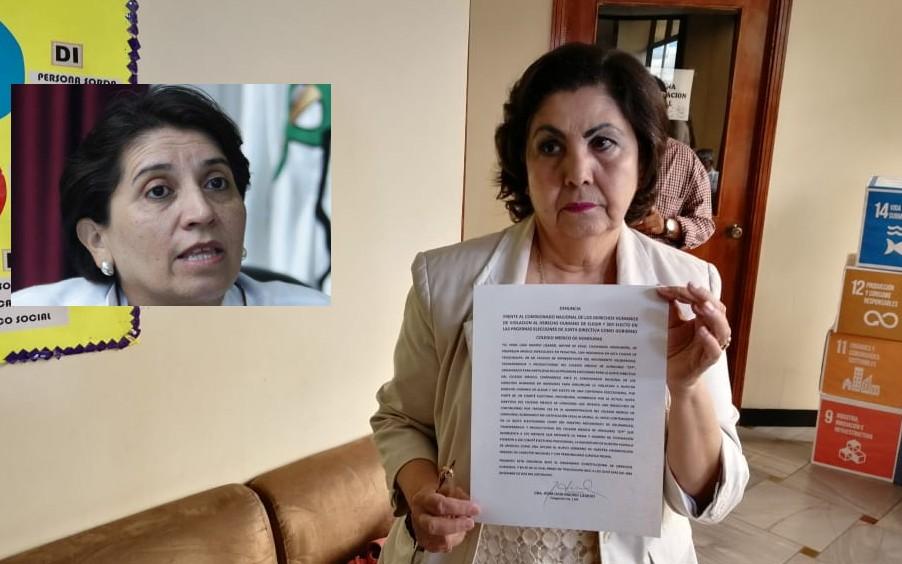 Suyapa Figueroa está haciendo una dictadura en el CMH, denuncia galeno