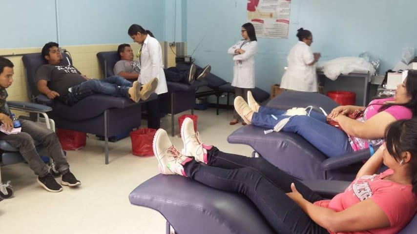500 pintas de sangre diarias necesita el HEU para mantener abastecimiento