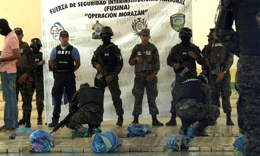 FF.AA reporta más de mil kilos de cocaína decomisados en 2019
