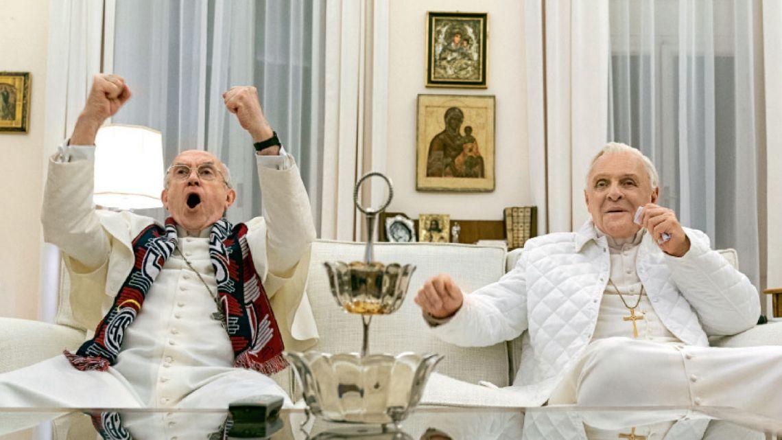 Los dos papas: film que ficcionionaliza pláticas entre dos pontífices