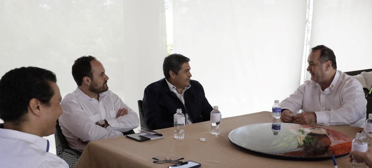 Honduras y Guatemala dialogan sobre temas de interés bilateral