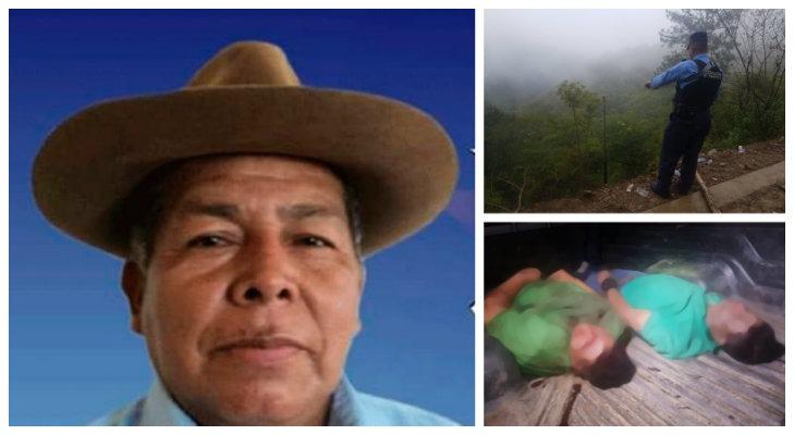 ¿Atentado criminal o accidente vial? Un exalcalde y tres acompañantes murieron en Olancho