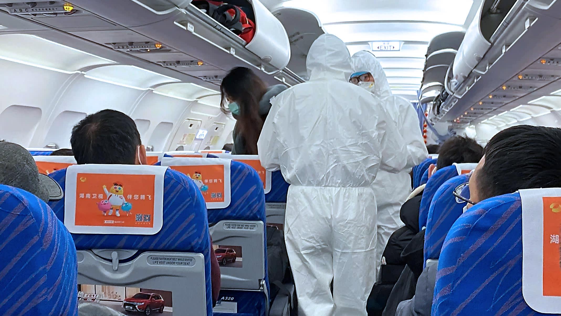 Coronavirus: Países envían aviones a Wuhan para evacuar a sus ciudadanos