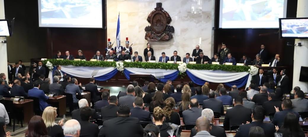 Congreso Nacional instala tercera legislatura en periodo 2018-2022
