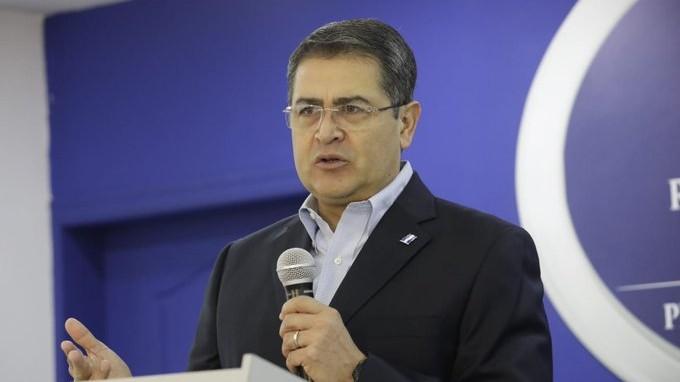 JOH anuncia creación de sistema integral de combate a la corrupción