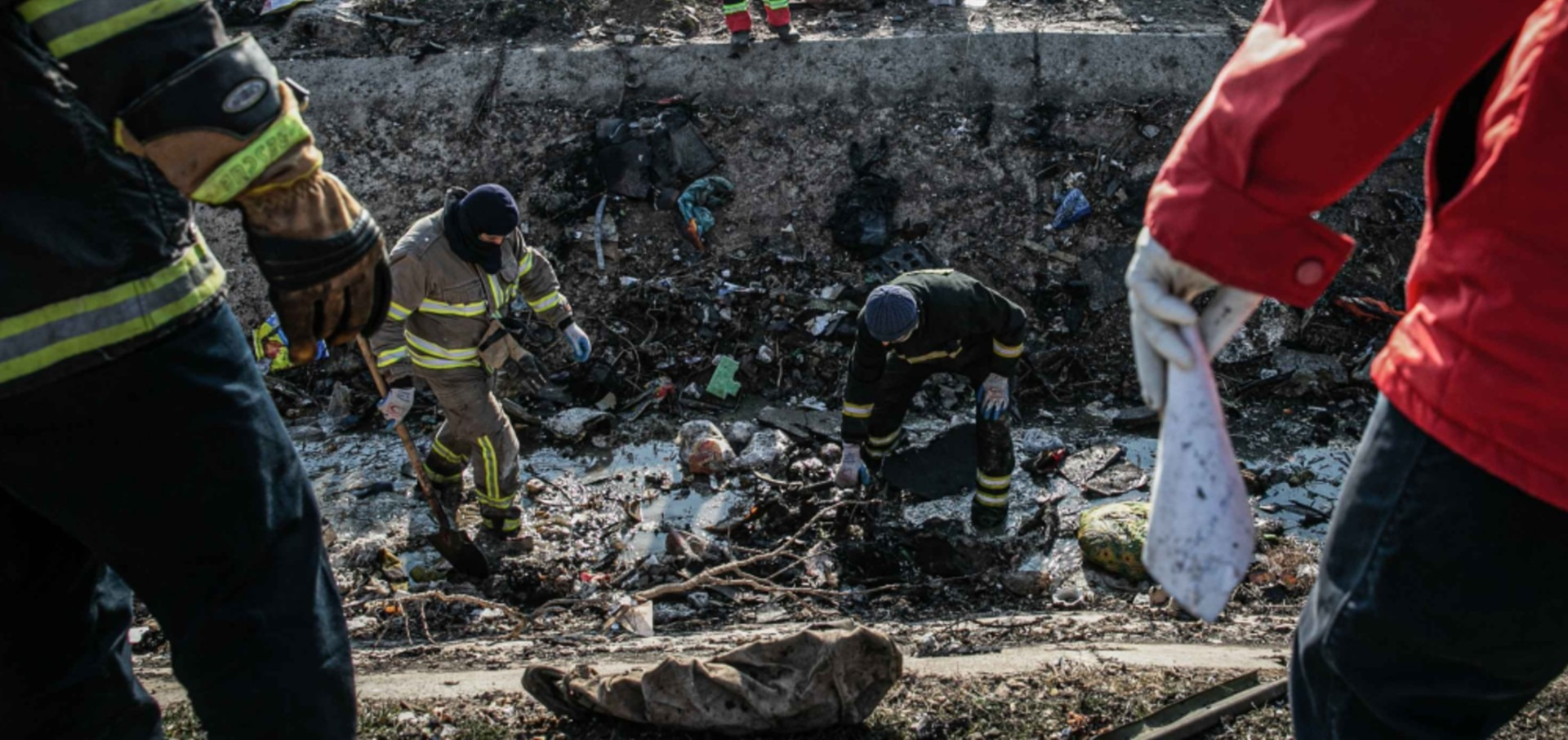 EE.UU. más convencido de que Irán derribó avión ucraniano por accidente