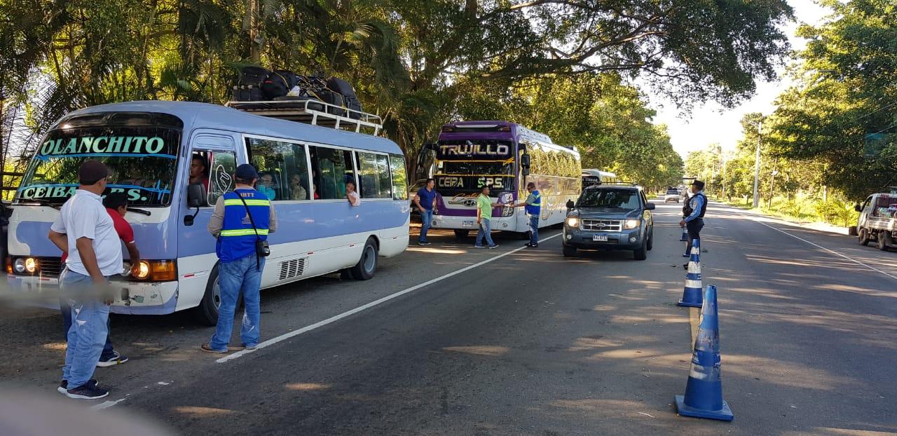 IHTT reportó cero accidentes de transporte público en Navidad 2019