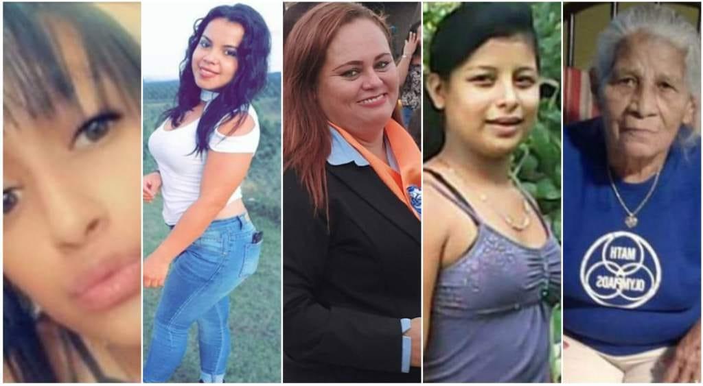 Cinco mujeres asesinadas se reportan en los primeros días de 2020