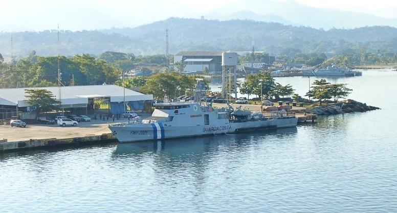 Buque de $ 54 millones que adquirió Honduras operará en febrero