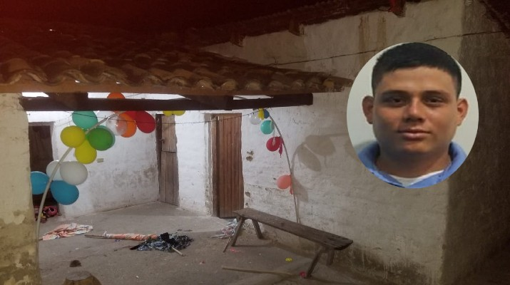 Lempira: Durante tiroteo en cumpleaños muere agente policial y pandillero