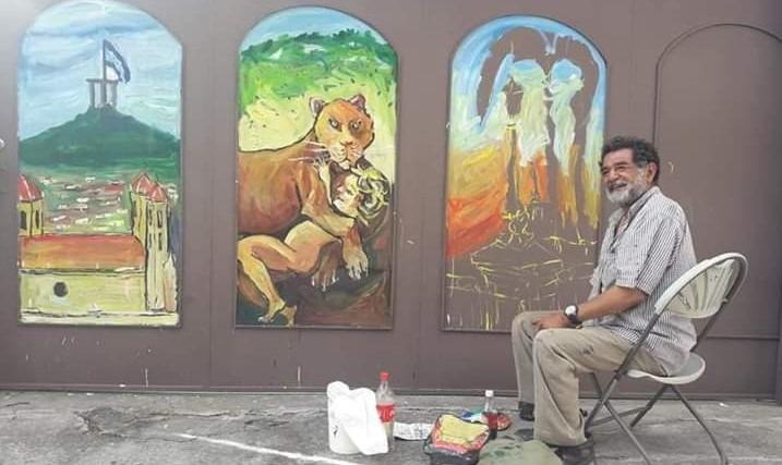 Nelson Salgado: La envidia me dejó fuera de la Escuela de Bellas Artes