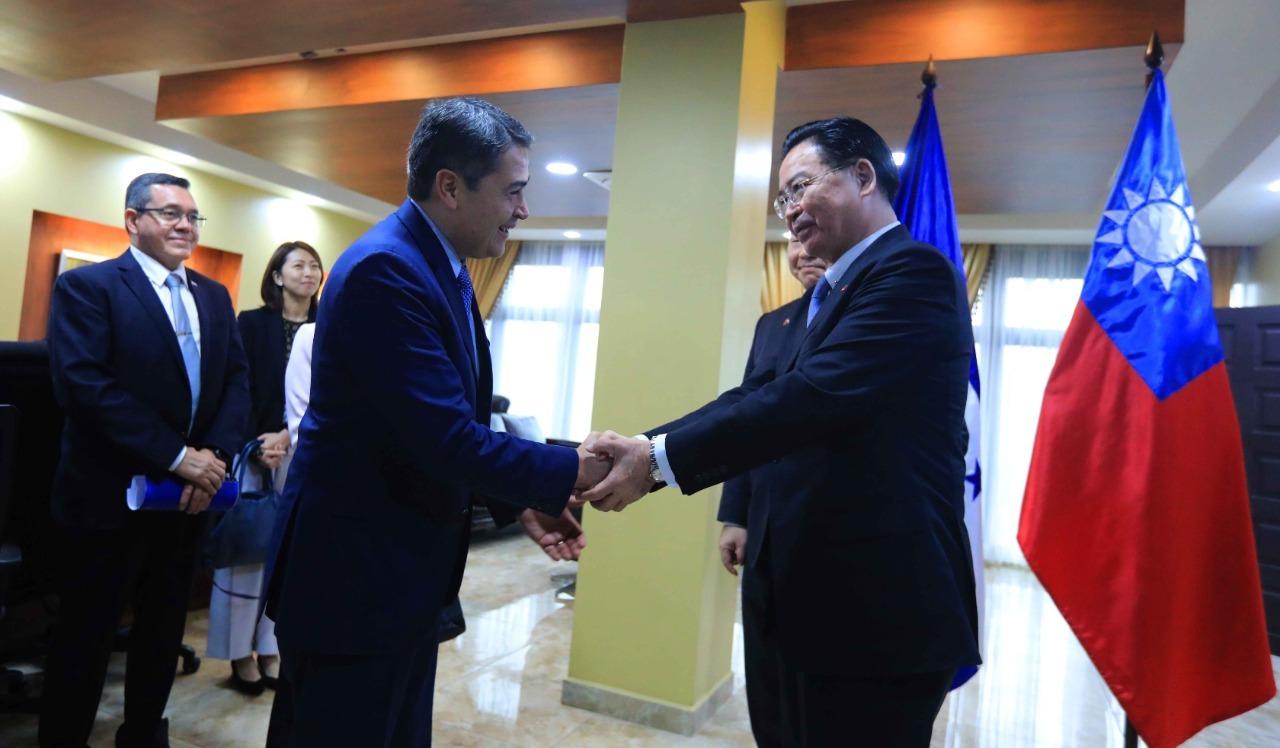 Honduras y Taiwán fortalecen relaciones de interés bilateral