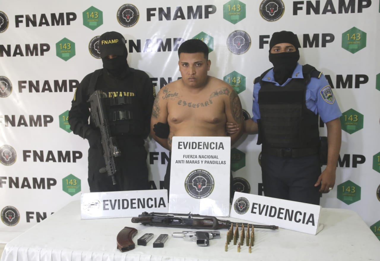FNAMP captura en la capital a supuesto gatillero de la mara Salvatrucha