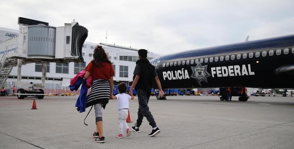 Retornan 532 migrantes hondureños desde México y Guatemala