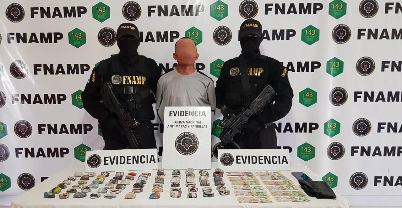 FNAMP captura a «Carroncha» presunto miembro activo de la pandilla 18