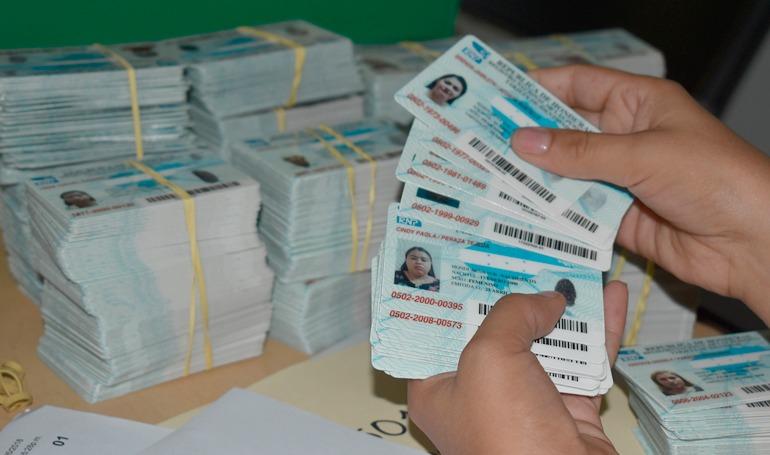 Nueva tarjeta de identidad tendrá un costo de 70 millones de dólares