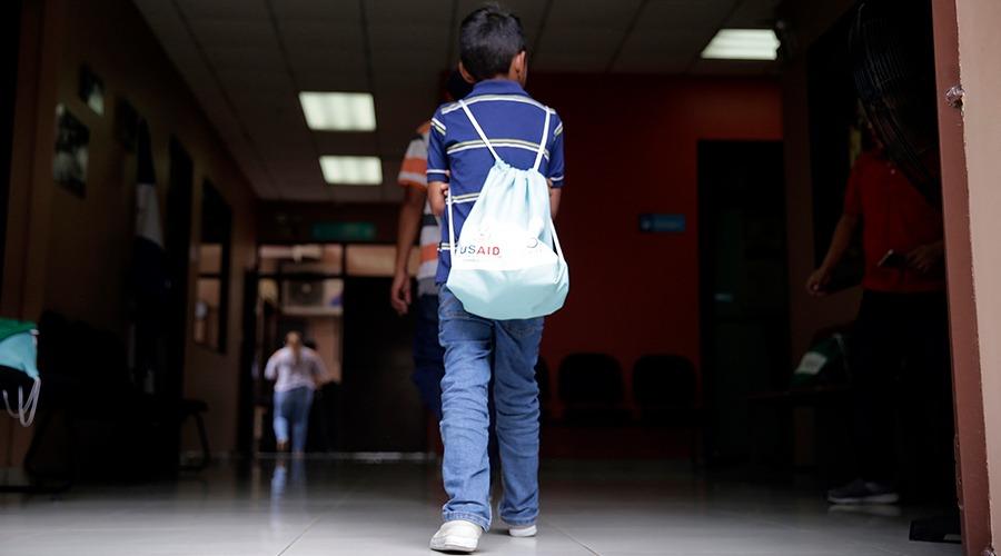 Dinaf reporta más de mil niños retornados en lo que va del año