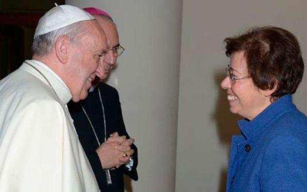 El Papa nombra por primera vez a una mujer en alto cargo del Vaticano