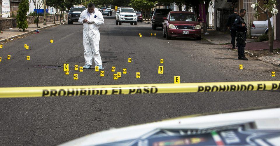 México: Autoridades reportan 104 homicidios en un solo día de enero