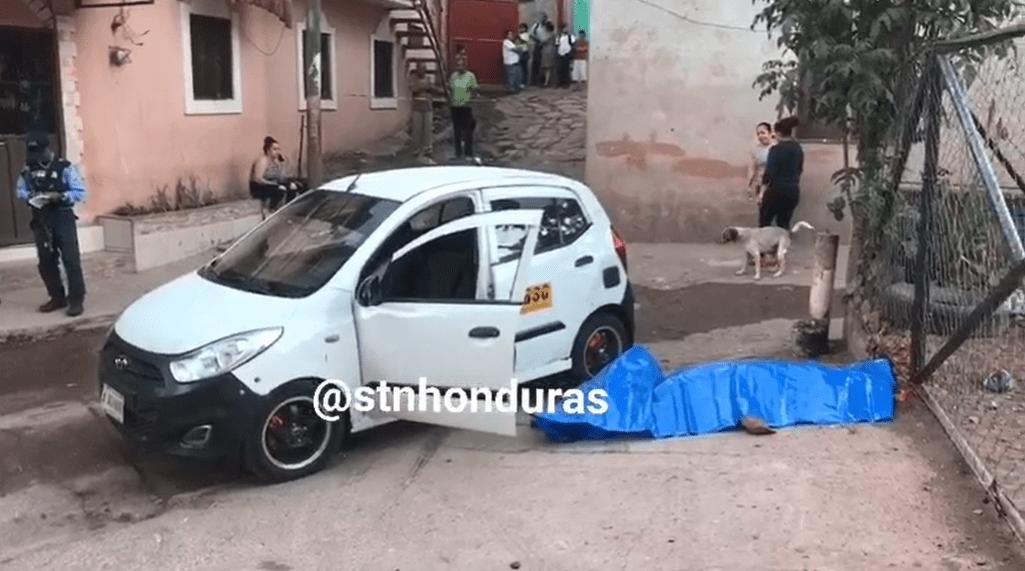 ¡A Balazos! Asesinan a taxista en La col. La Sosa de la capital.