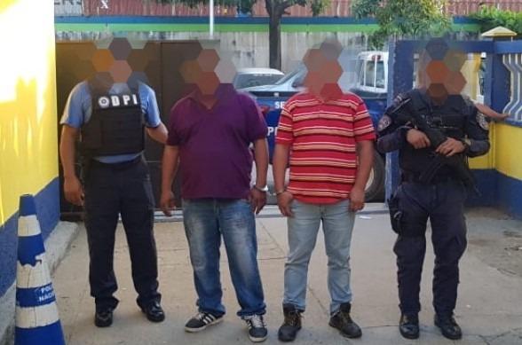 Sujetos son detenidos por el delito de tráfico ilegal de personas