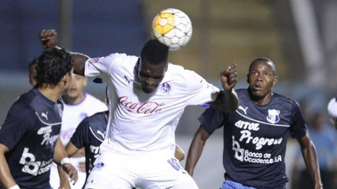 Olimpia goleó cinco por cero al Honduras Progreso