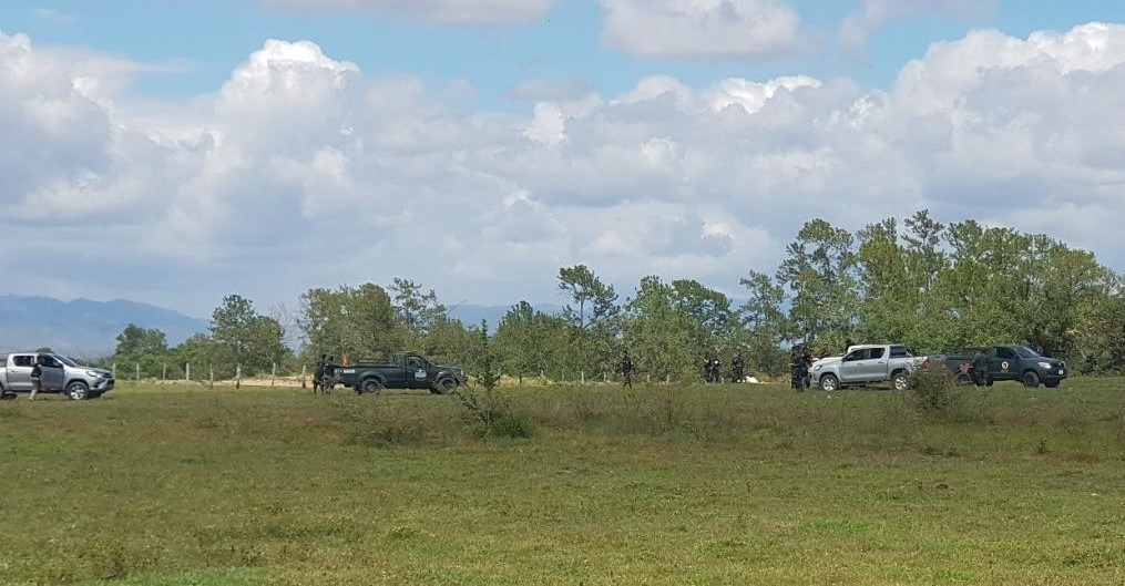 Inhabilitan área clandestina de aterrizaje en Olancho