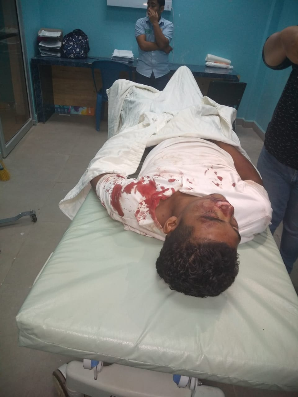 Camión atropella y aplasta a un joven en Choluteca