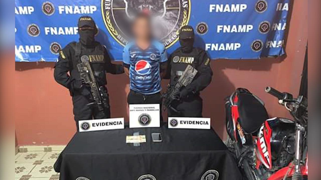Choluteca: capturan a miembro de la MS y cae vivienda sobre una familia