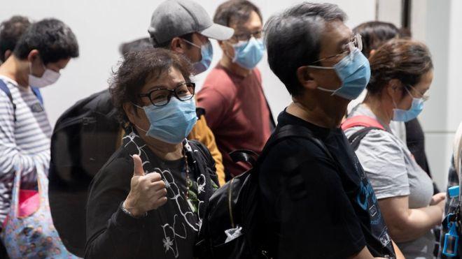 Coronavirus: 3.600 personas desembarcaron de crucero en Hong Kong