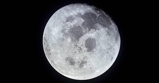 Este fin de semana la «superluna de nieve» iluminará el cielo