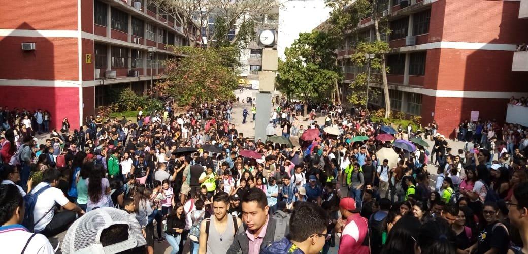Estudiantes de la UNAH exigen mayor seguridad en los predios