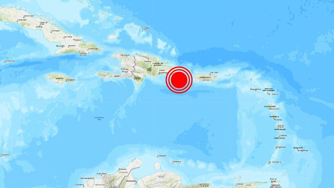 Un sismo de magnitud 5,4 se registra frente a las costas de República Dominicana