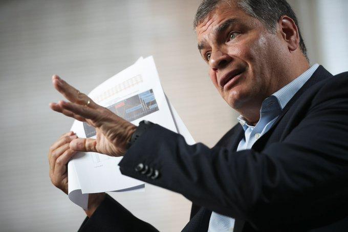 Fiscalía ecuatoriana pide máxima pena para Correa