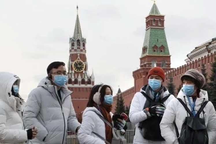 Rusia impone un mandato de uso de máscara a nivel nacional