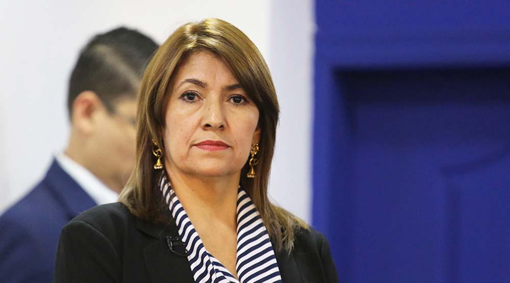 Ministra de Salud: «Lo más importante es que guarden las normas de bioseguridad»