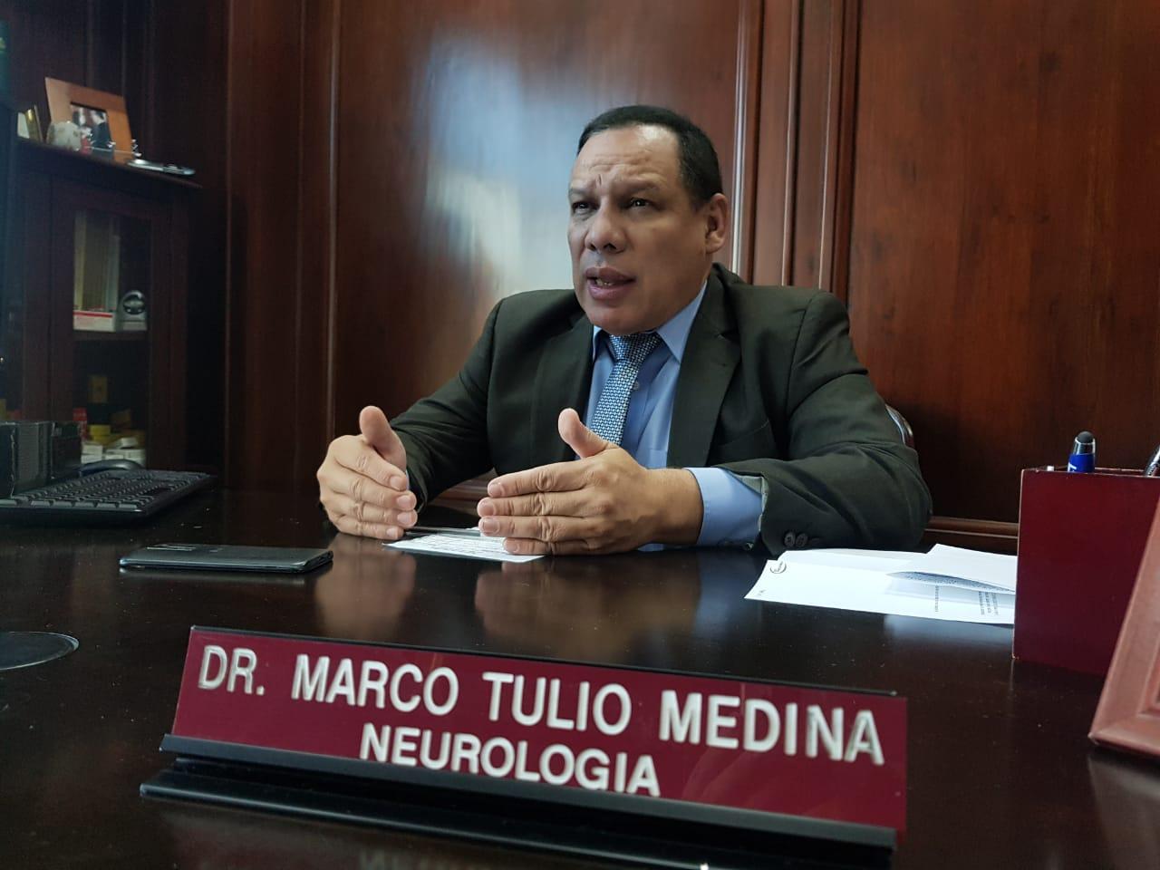 Marco Tulio Medina: «Eta vino a agudizar el problema de salud pública»