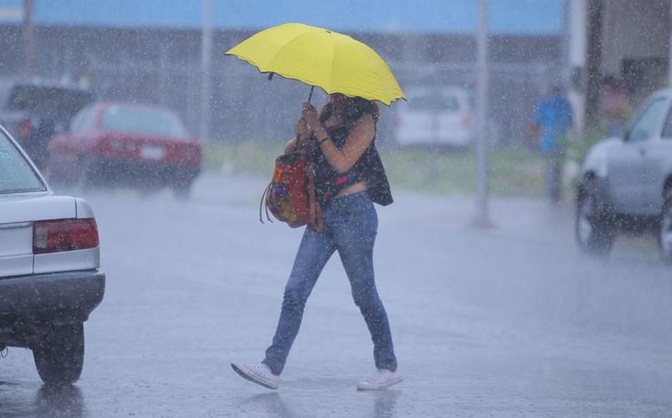 Se esperan precipitaciones en la mayor parte del territorio nacional